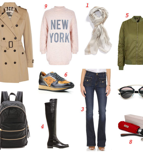 10 Things To Pack For Scandinavia in Spring
