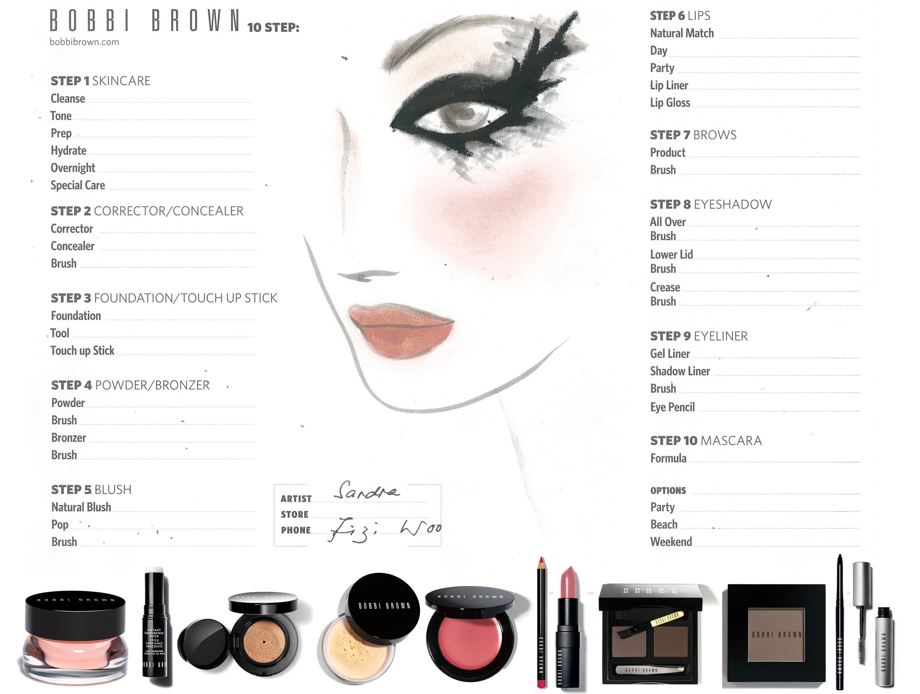 Bobbi Brown For Fizi Woo