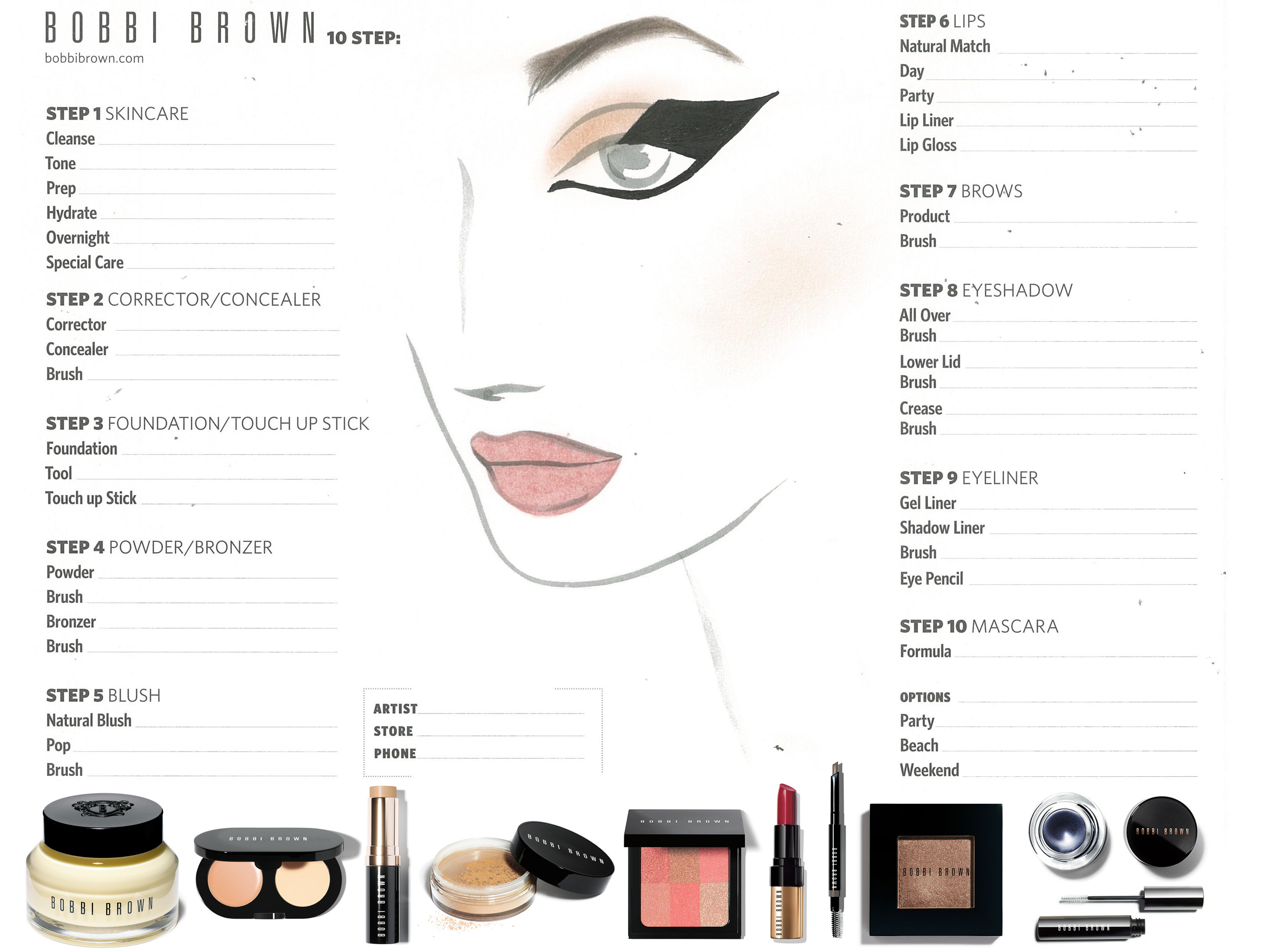 Bobbi Brown For Justin Yap