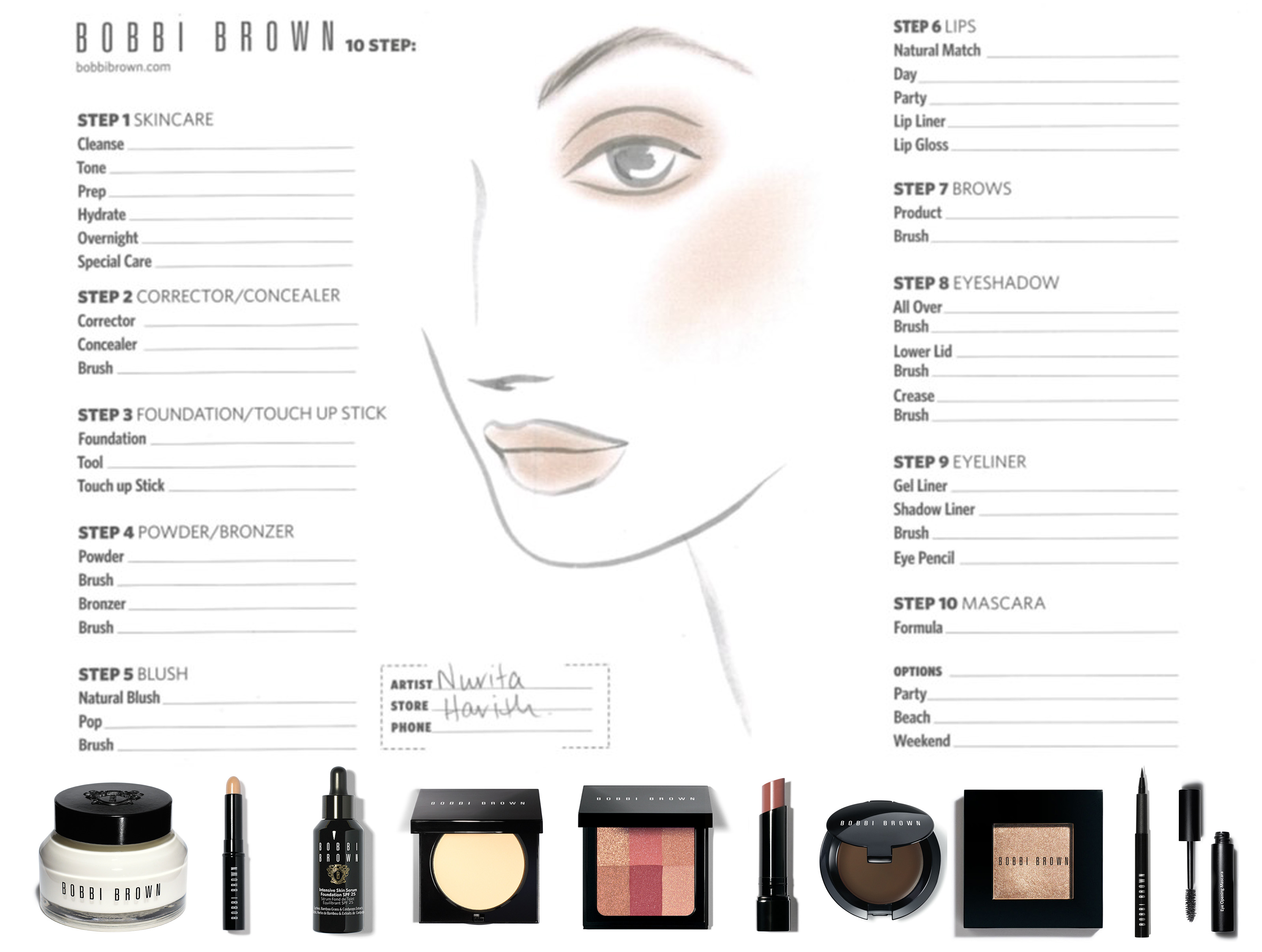 Bobbi Brown For Nurita Harith