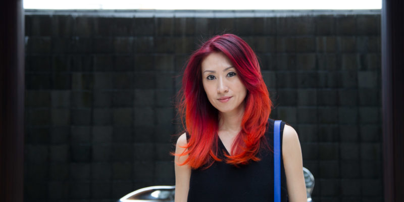 New Hair Color – Sunset Bliss