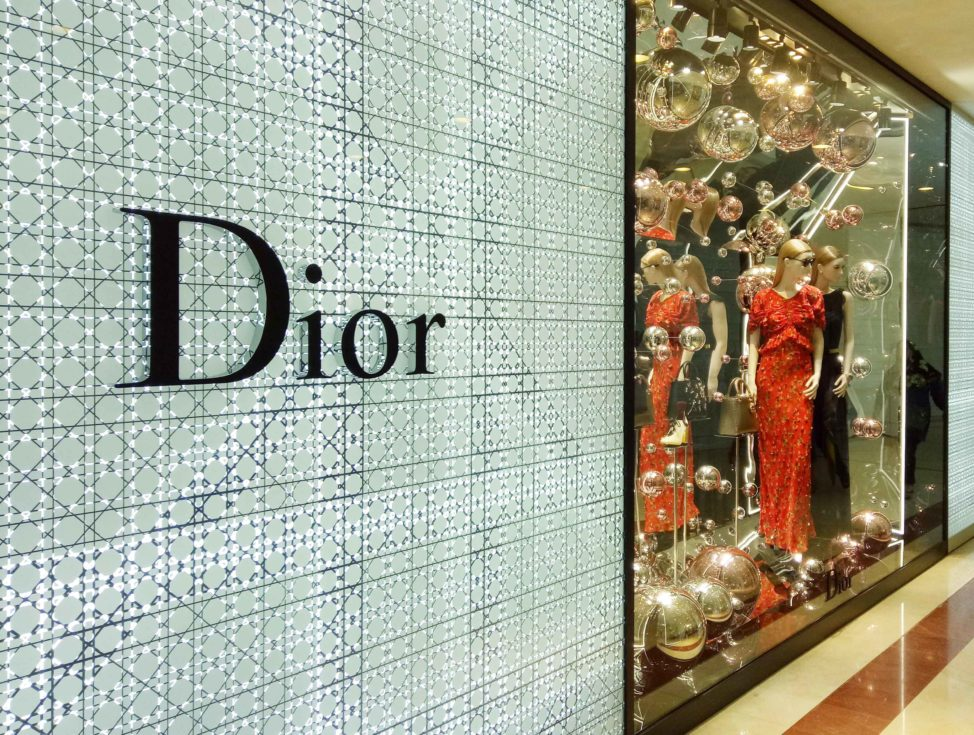 Dior KLCC Window Display