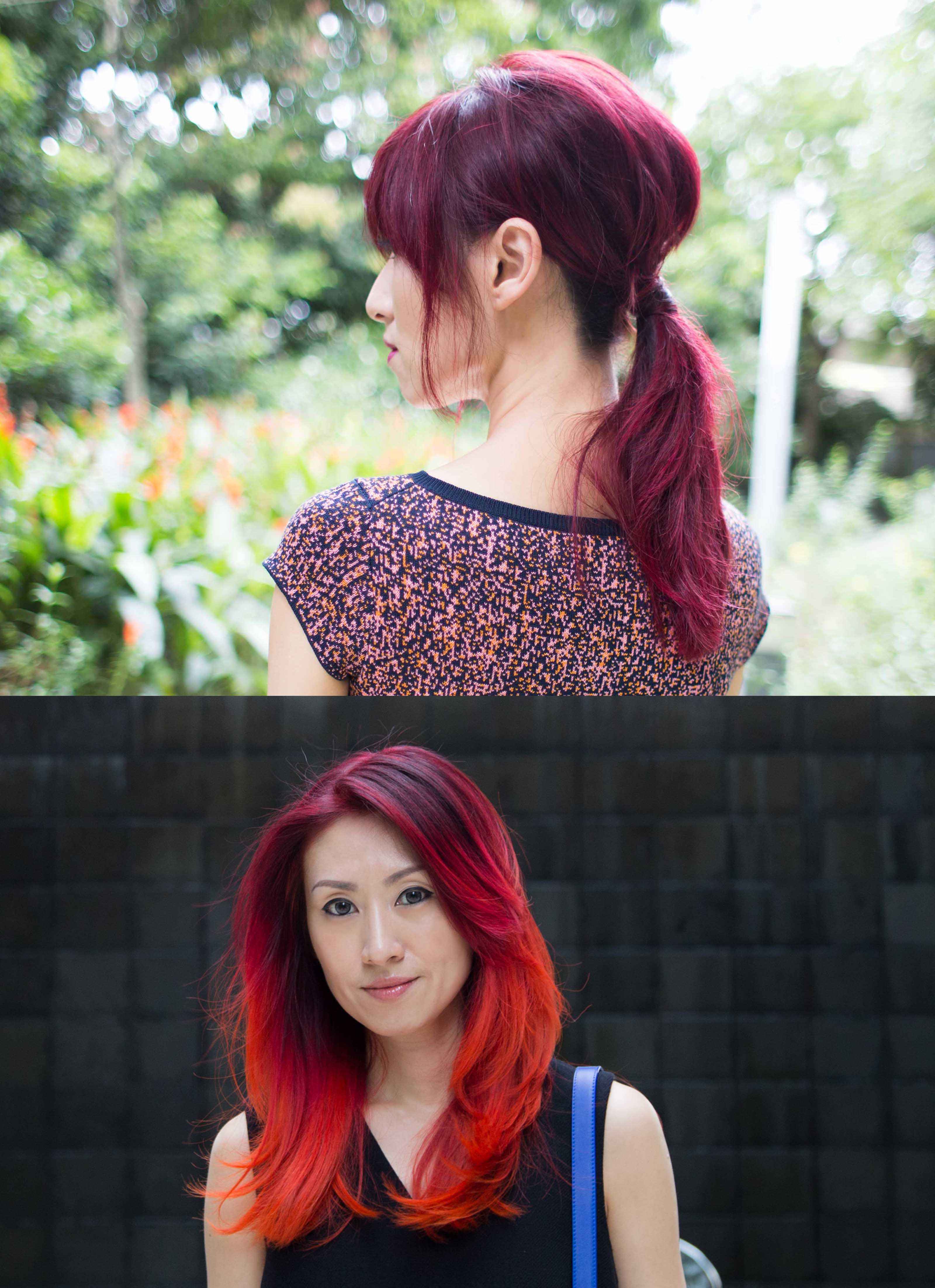 Red and Orange Hair