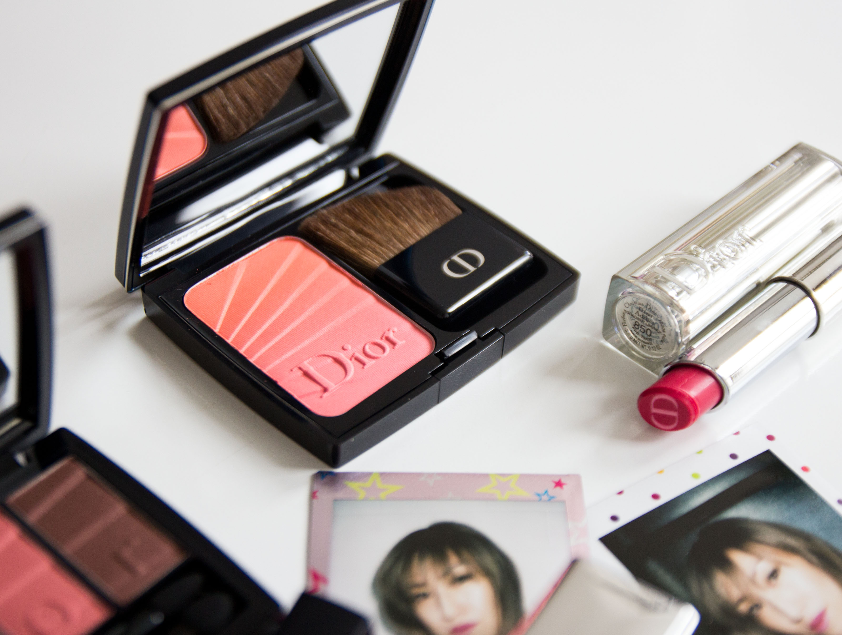 Diorblush Colour Gradation