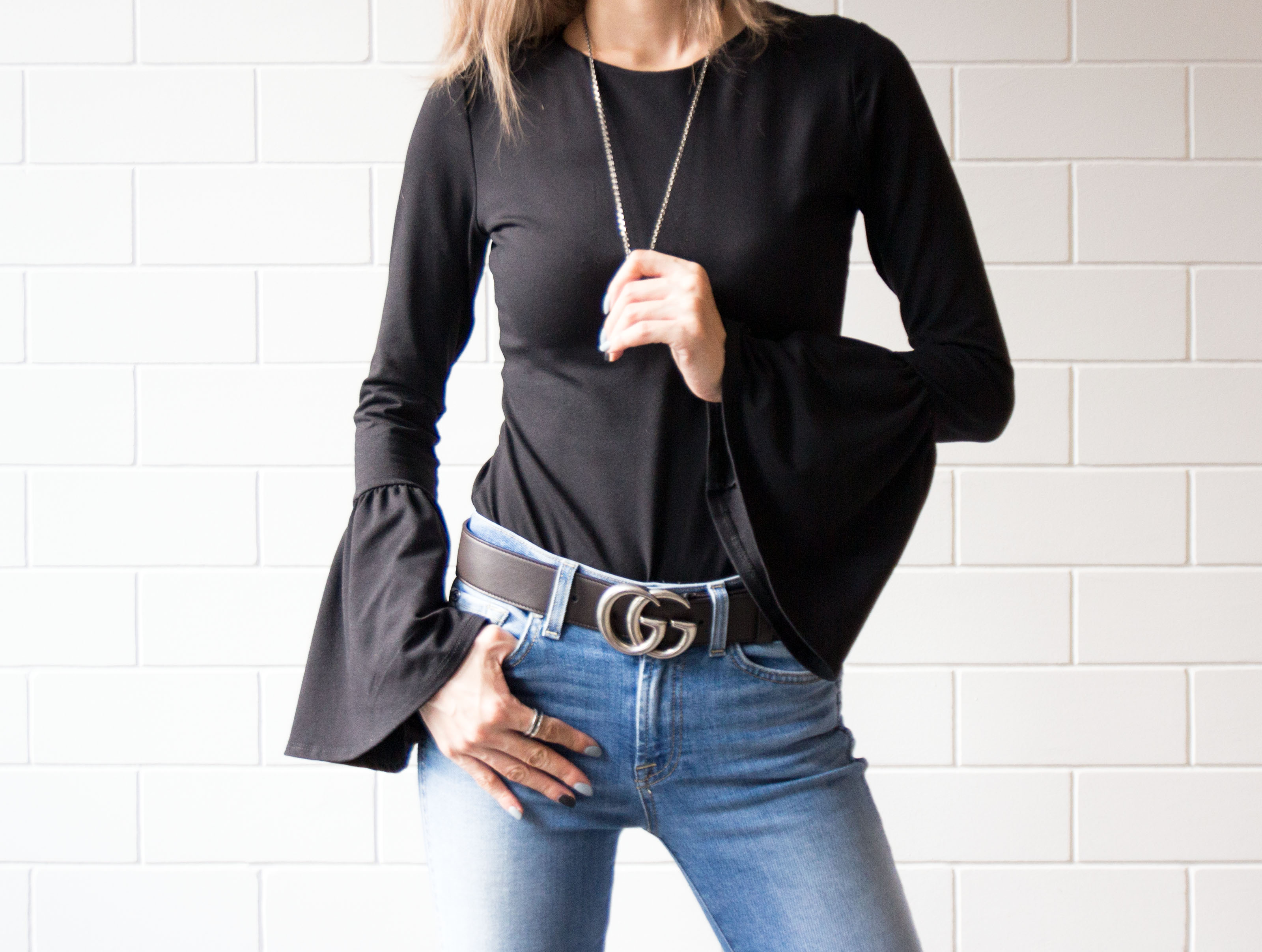 Dramatic Sleeves To Go With Basics || Diva In Me