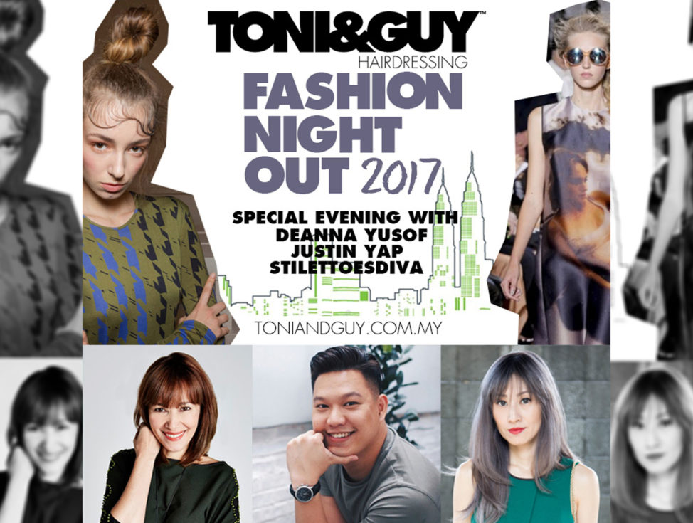 Fashion Night Out - Toni & Guy Bangsar
