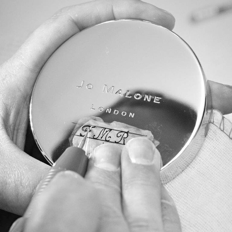 Jo Malone London - Hand-Engraving