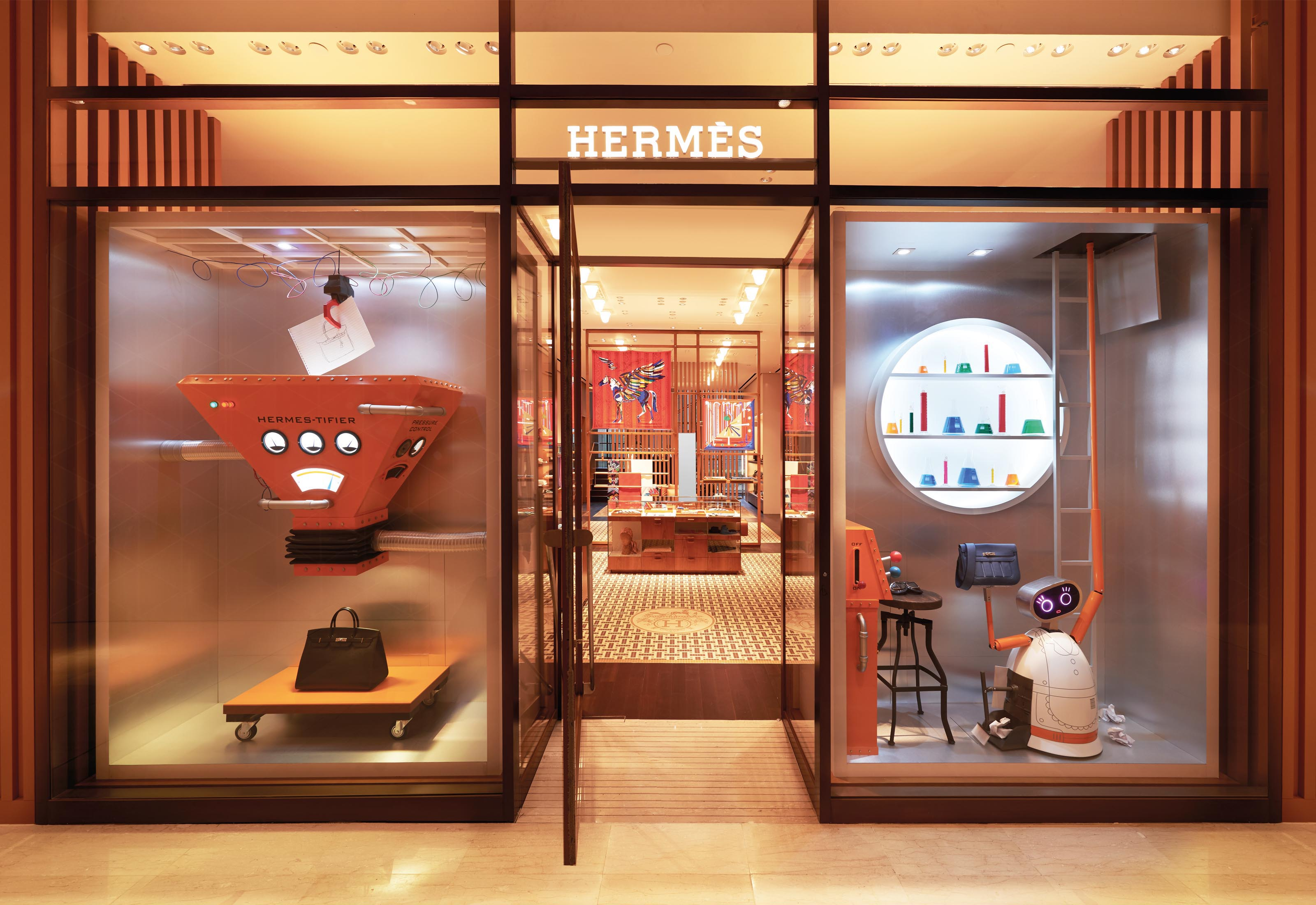 Hermes Opens Its Own Perfume Boutique in New York Hermes Opens Its Own Perfume Boutique in New York new pictures
